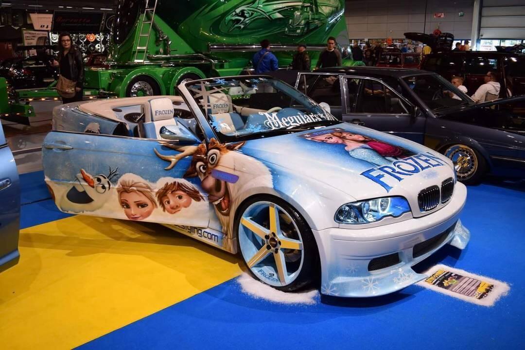 BMW 330 Frozen