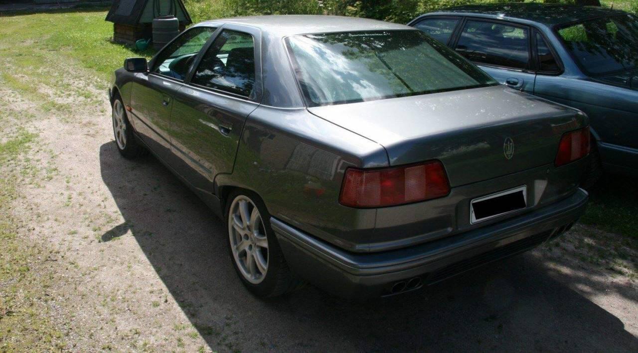Elämäni auto Maserati Quattroporte. KUVA: Joose Luukkanen