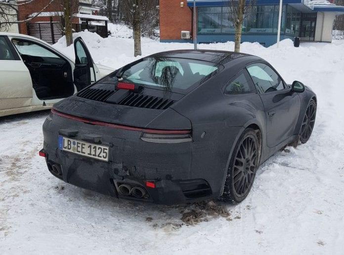 Porsche 911, 2019, 992