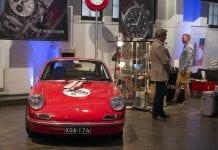 Ville Arzogloun Porsche kuvasti hyvin tapahtuman luonnetta: klassikko mikä klassikko.