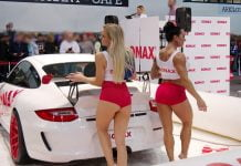 Sonax PinUp Car wash show