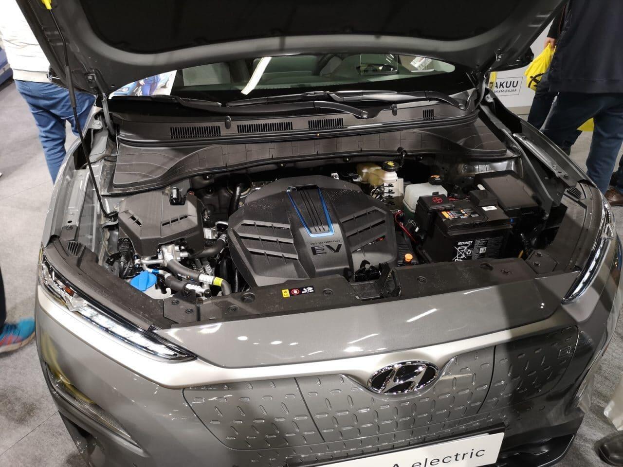 Hyundai Kona moottoritila