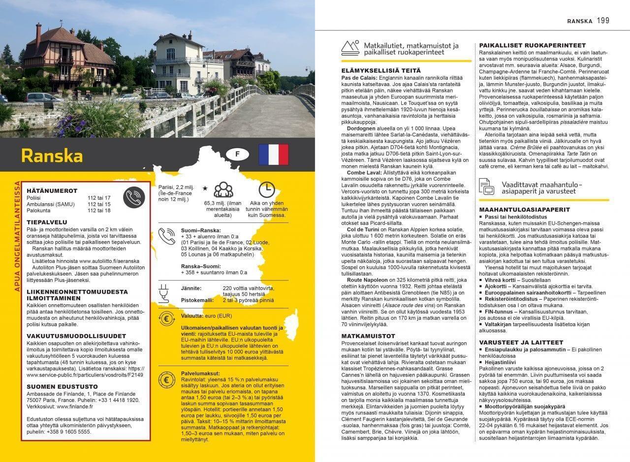 Autoillen Euroopassa -kirja, Autoliitto