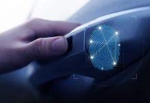 Hyundai sormenjälkitunnistus