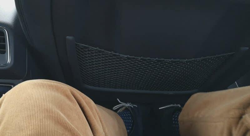 Jokamies Audi Etron koeajo - jalkatila