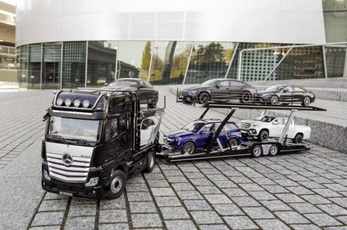 Mercedes-Benz Actros -pienoismalli