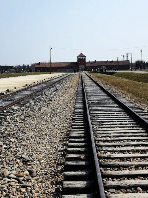 Jokamies-Itäblokki-Teslalla-Auschwitz-Raiteet