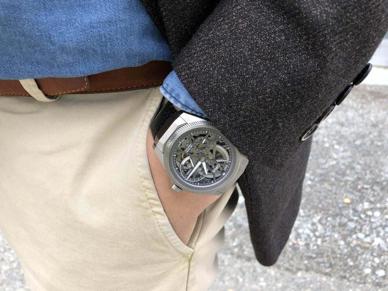 Oris Big Crown ProPilot X sopii hienosti business/smart casual -pukeutumiseen.