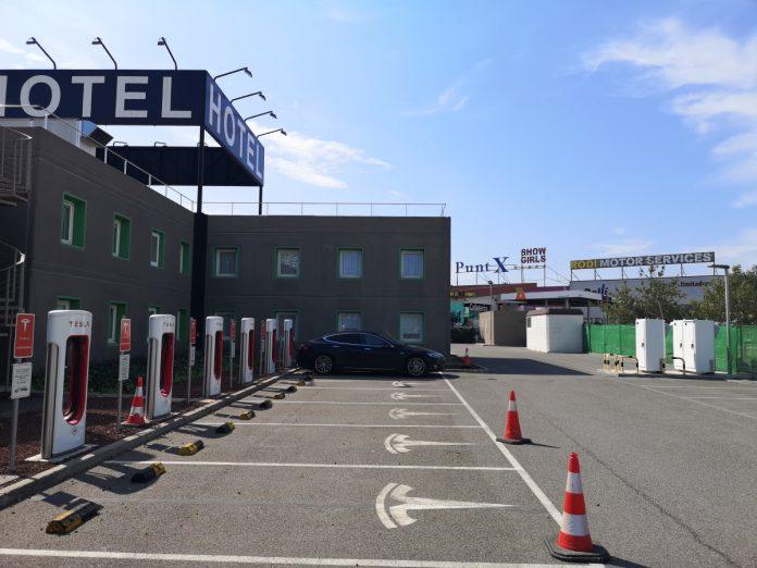 Jokamies - Teslalla Madridiin #8 - Lleida Supercharger